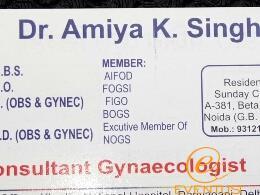 Amiya K. Singh
