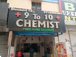 9 To 10 Chemist