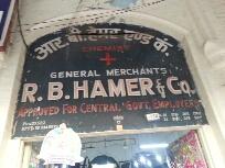 R.B.Hamer & Co.Chemist and General Merchant